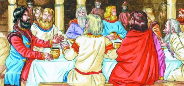 Совещание князей Рюриковичей. Фото: http://900igr.net/up/datai/134534/0016-020-.png