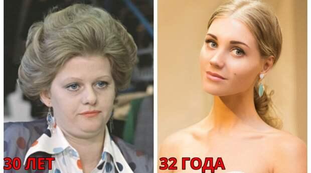 Как выглядели женщины-звёзды в СССР и как выглядят сейчас (на фото всем уже за тридцать)
