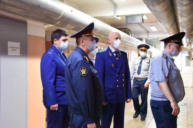 Зампрокурора Москвы провел проверку и прием в СИЗО на Выборгской