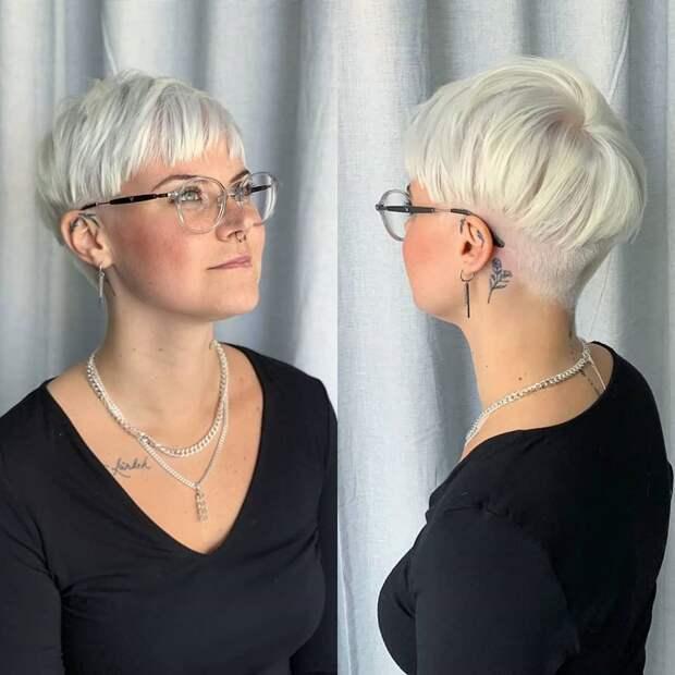 17 крутых стрижек после 30 лет на короткие волосы с разных ракурсов