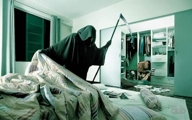 Можно ли спать на кровати умершего?