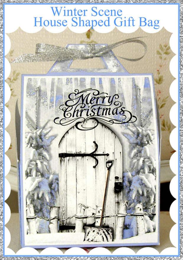 Winter_Scene_House_Shaped_Gift_Bag_Sample (494x700, 439Kb)