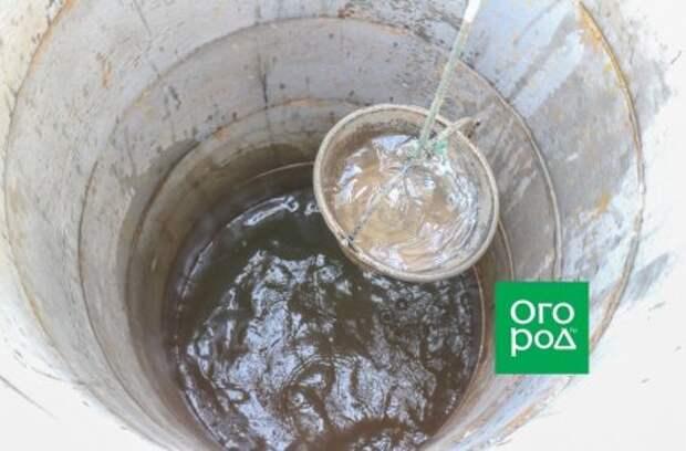 Пропала вода в колодце – что делать?