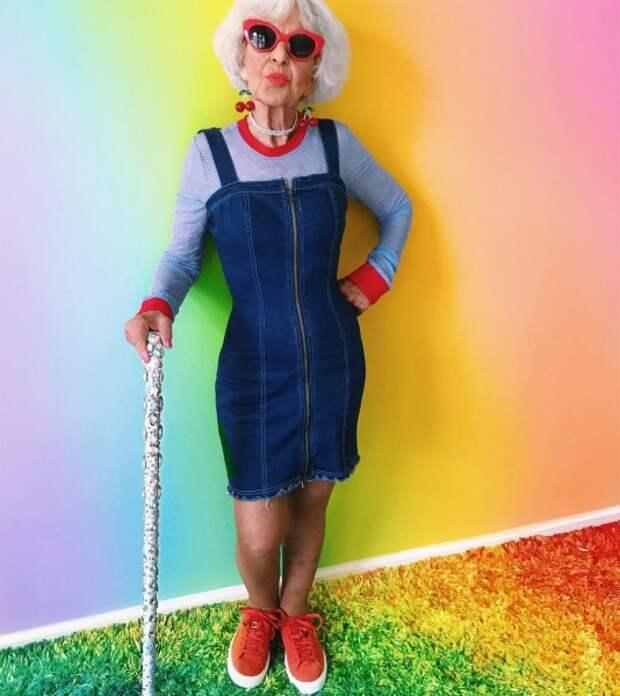 91-летняя бабуля-зажигалка Элен Рут ван Винкл, или Как нужно встречать старость