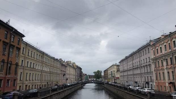 Южный циклон принес осадки в Петербург