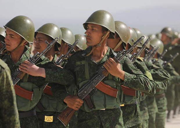 В Таджикистане стартовало совместное российско-таджикское учение с участием более 3,5 тыс. военнослужащих