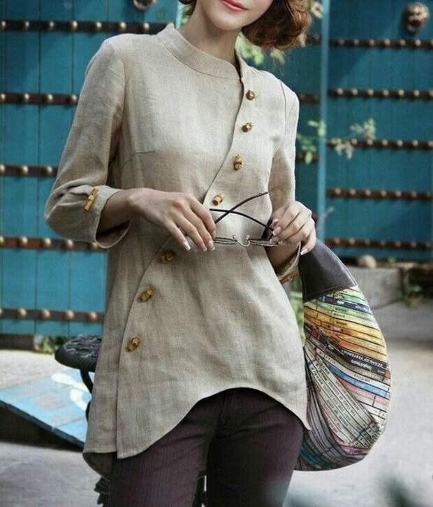 Женская косоворотка: всегда стильно и оригинально