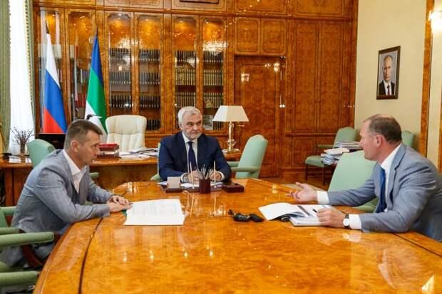«Газ в каждый дом»: Владимир Уйба обсудил с представителем «Газпрома» реализацию программы газификации региона