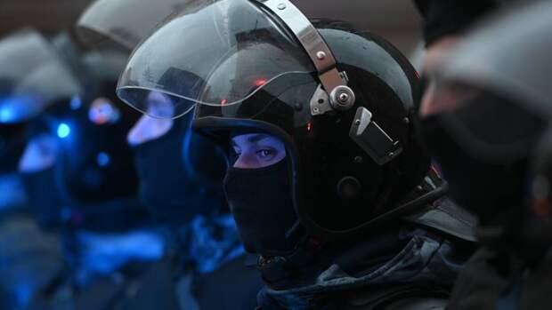 МВД РФ: в незаконных акциях приняли участие 14,4 тысячи человек