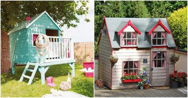 Исполняем мечту ребенка: уютные детские домики на участке