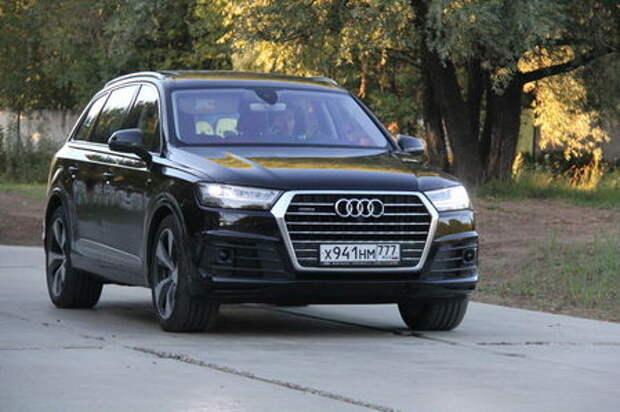 Audi Q7: и представительный, и семьянин