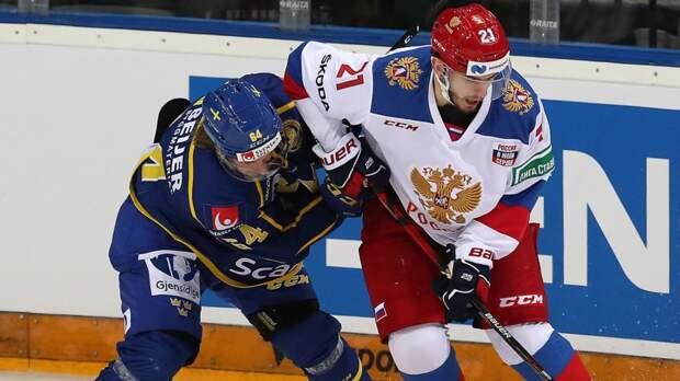 Сборная России выиграла у Швеции и возглавила таблицу чешского этапа Евротура