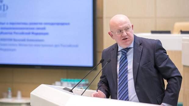 Небензя упрекнул ООН в отказе слушать реальные факты о Донбассе