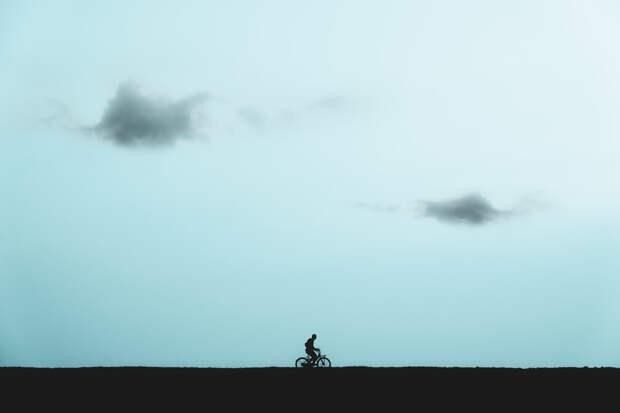 Cyclist by Alexander Schitschka on 500px.com