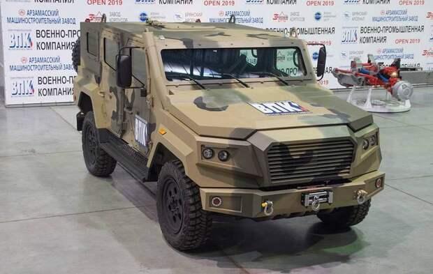 В России разработано новое семейство бронеавтомобилей