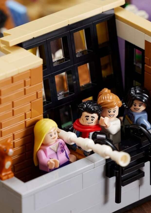 Lego выпустила набор, созданный по мотивам сериала...