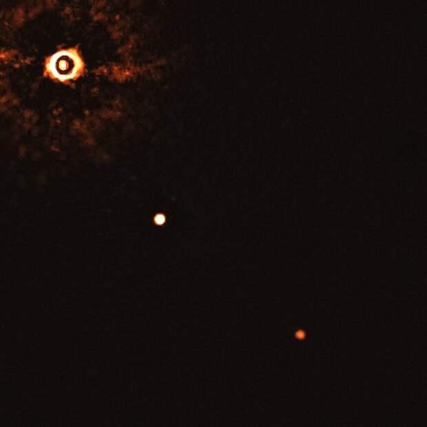 Впервые сфотографированы планеты у похожей на Солнце звезды