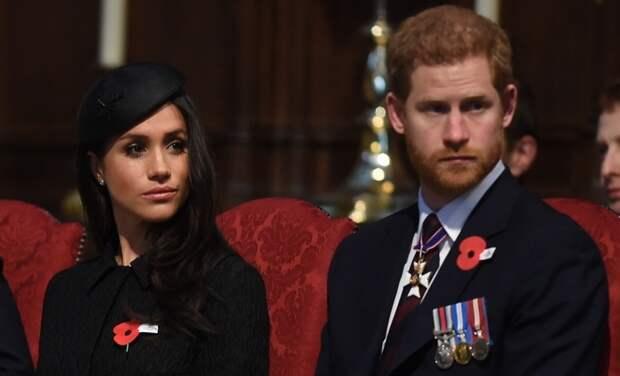 Меган Маркл и принц Гарри выразили свои соболезнования в связи со смертью принца Филиппа