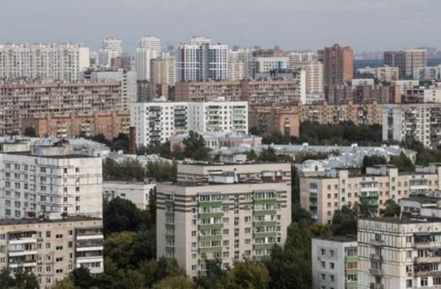 Многоквартирные дома в Москве, Россия, 24 августа 2020 года