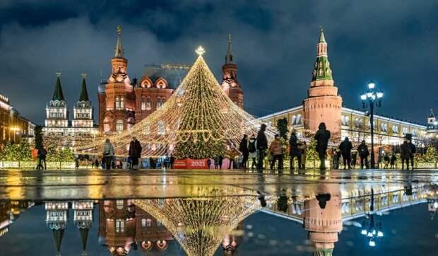 В Москве 31 декабря объявили выходным днем