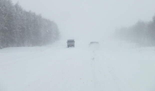ГИБДД временно перекрыла дорогу Оренбург - Орск в районе села Краснощеково