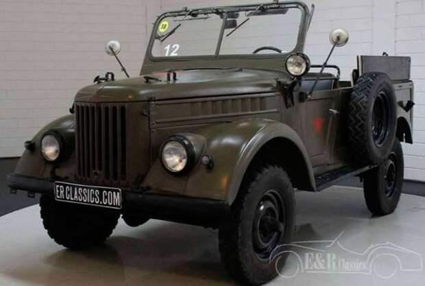 Советский внедорожник ГАЗ-69 продают за границей по цене Renault Duster