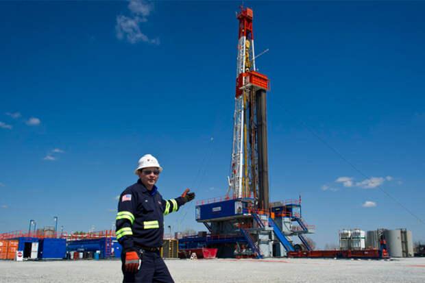 Добыча газа США