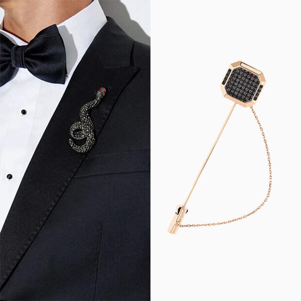 Мужчины, которые носят броши: одобряем или нет?