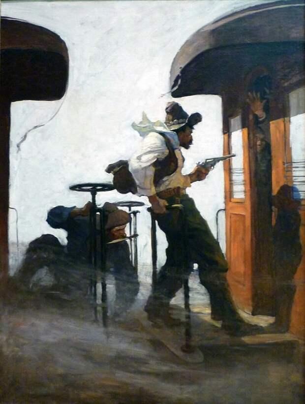 Ньюэлл Конверс Уайет «Великое ограбление поезда»