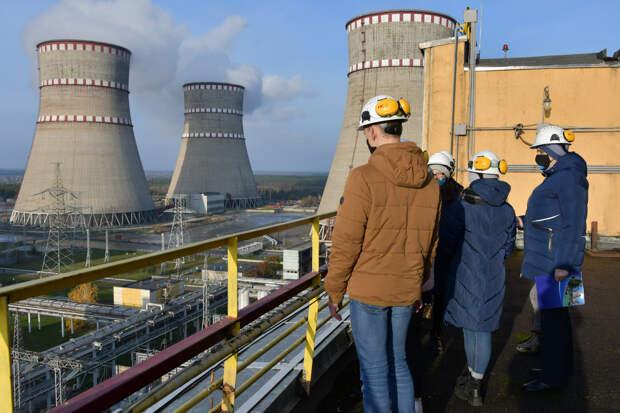 На Украине отключился первый энергоблок Ровенской АЭС