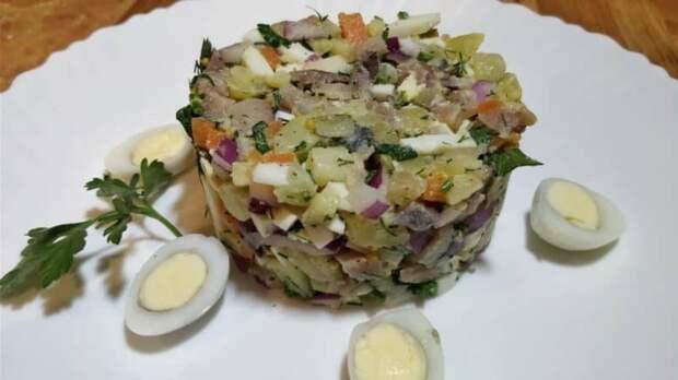 Салат Прибой с селёдочкой - проверенный, простой и очень вкусный рецепт 4