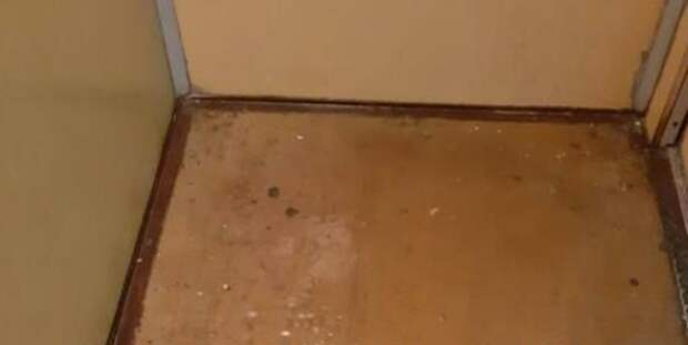 Кабину лифта отмыли в доме по Мячковскому бульвару