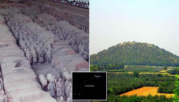 китай, захоронения, история, могилы, терракотовая армия