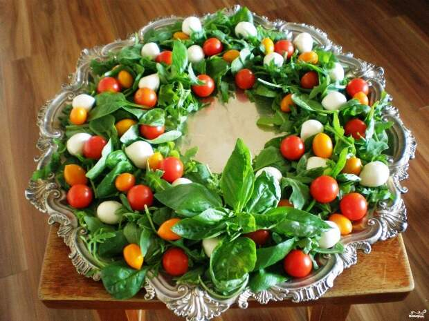 Украшение салатов на Новый 2021 год: как украсить, самые лучшие идеи33