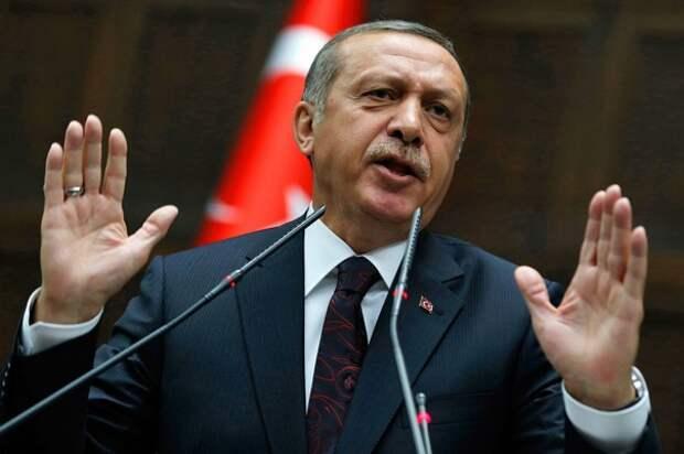 Эрдоган опять наворотил дел и идет на конфликт с Россией