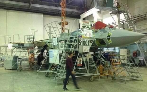 Sohu: Россия столкнулась с серьезными проблемами при производстве истребителей Су-57