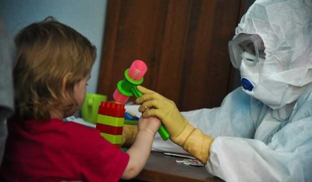 Ученые: Недооценивать коронавирус у детей опасно