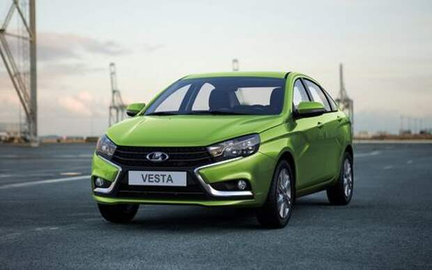 Lada Vesta подорожает в сентябре