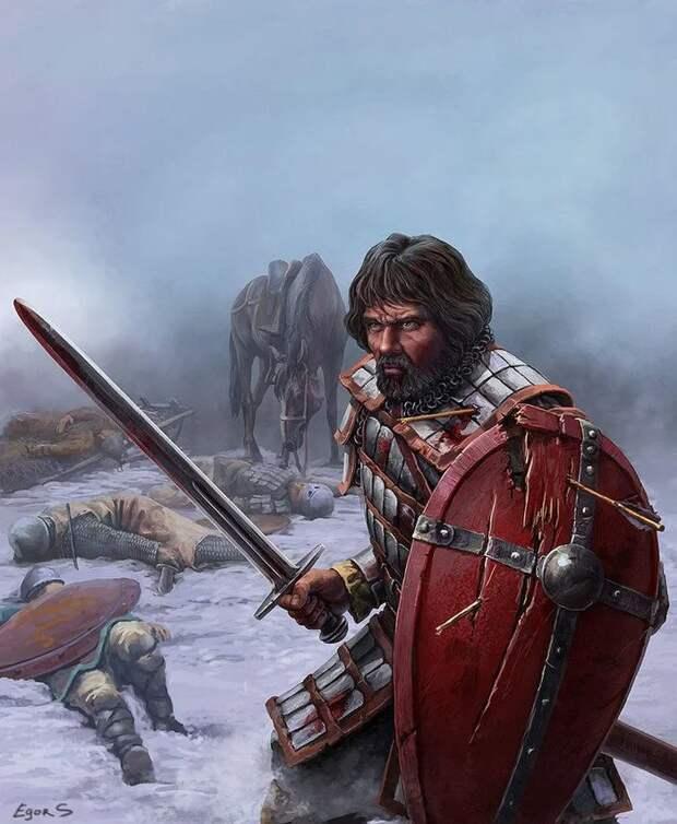 В чём особенность древнерусского меча