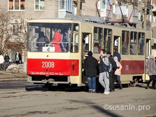 В Ижевске на улице Ленина сузят проезжую часть