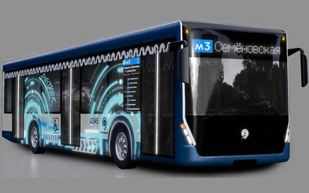Москва наэлектризует автобусы на 12,7 миллиардов