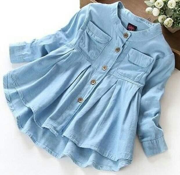 Выкройки детского платья рубашки