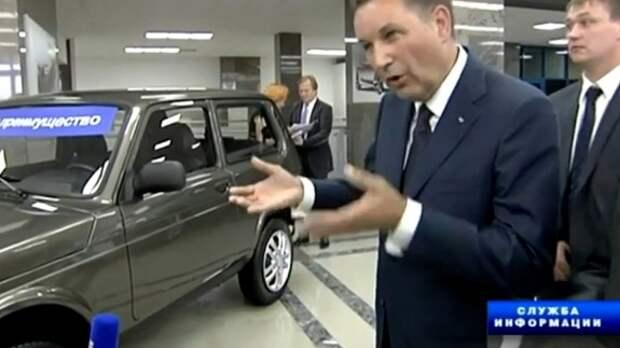 Lada 4x4 Urban засветилась в видеоролике