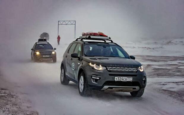 За рулем Land Rover Discovery Sport к самоедам на Ямал