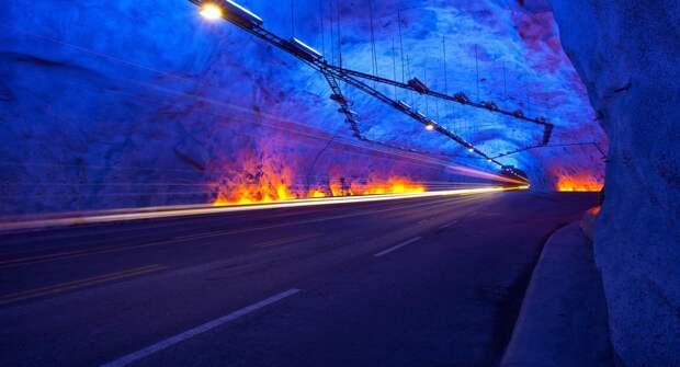 Рейтинг самых длинных автотранспортных тоннелей мира