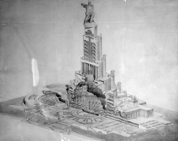 Сталинская Москва