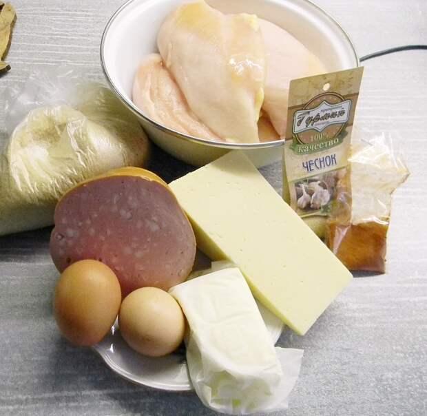 """Куриные рулетики """"А-ля кордон-блю"""" в духовке Кулинария, Рецепт, Филе, Приготовление, Длиннопост, Курица"""