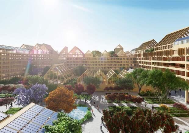 В Китае построят город, приспособленный к длительному карантину