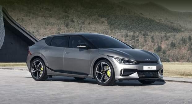 Электрический кроссовер Kia EV6 уже стал хитом продаж