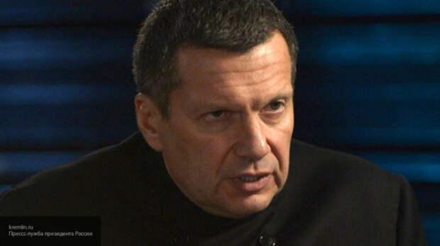 Соловьев ответил Мухарскому на его громкое заявление в адрес «русских»